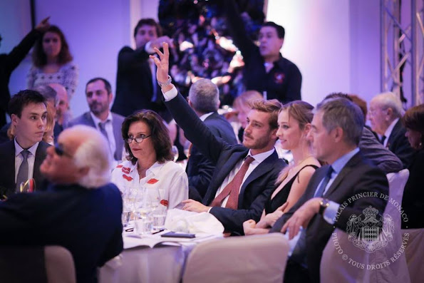 Princess Stephanie, Pierre Casiraghi And Beatrice Attended A Charity Auction