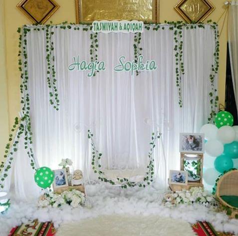 Be Success Home Minimalis 52 Dekorasi Aqiqahan Anak Yang