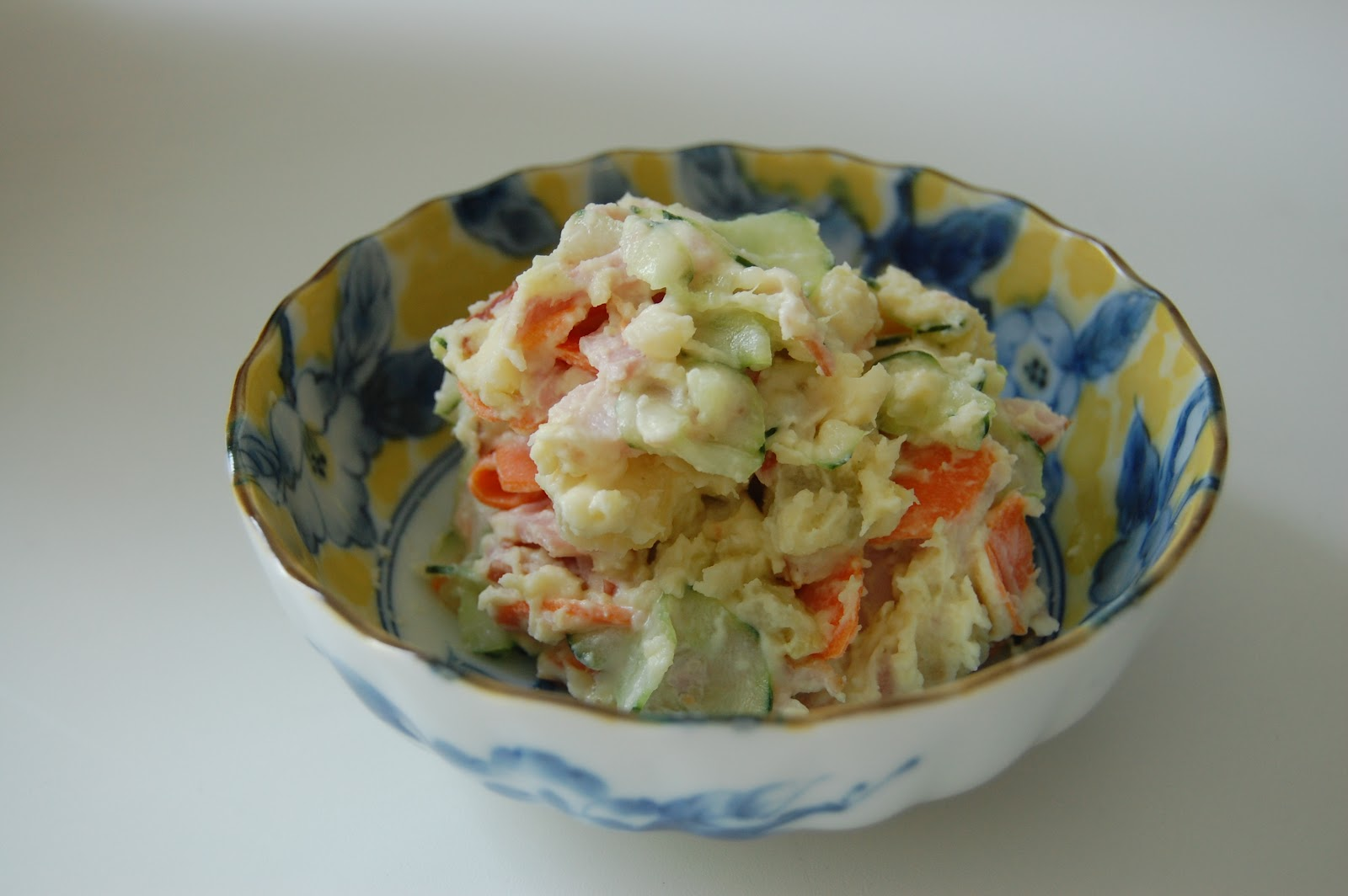Japanese Sweet Potato Salad 薩摩いもサラダ | Japanese Cuisine - Cooking Japanese Food at Home