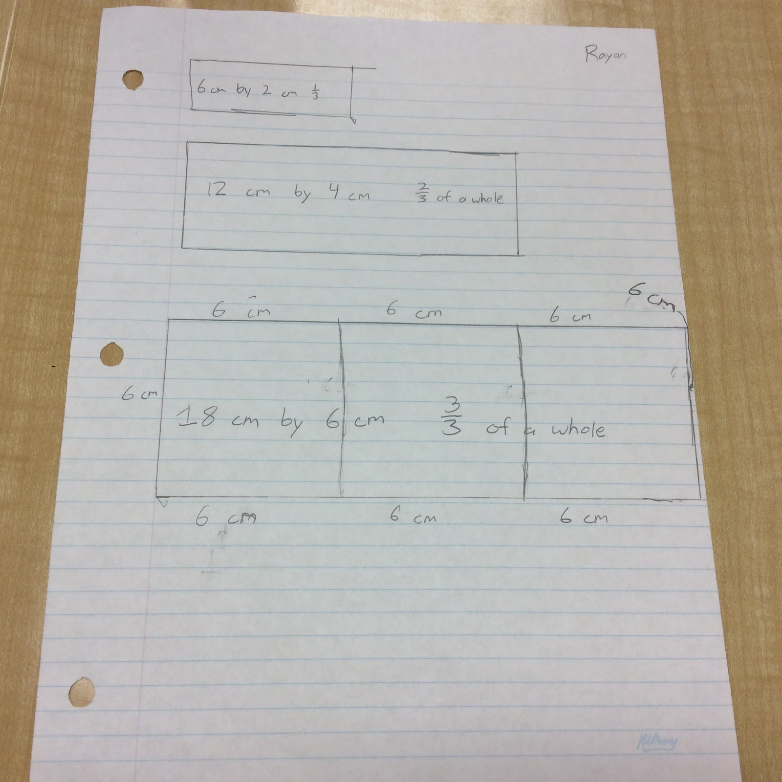 Old Fashioned Math Aid Fractions Model - General Worksheet ...