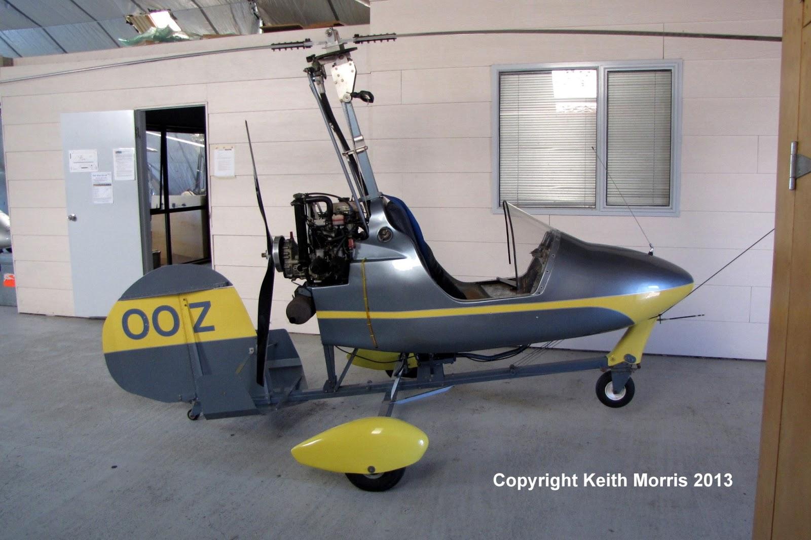 NZ Civil Aircraft: Montgomerie Bensen B8MR Gyrocopter at ...