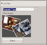 Olympus Viewer 3 Dramatic Tone tool
