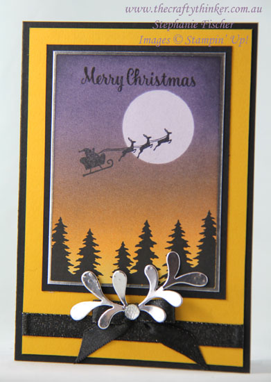 #cardmaking, #stampinup, #christmascard, Memories & More Christmas Card, Hearts Come Home, #thecraftythinker, Stampin' Up Australia Demonstrator, Stephanie Fischer, Sydney NSW