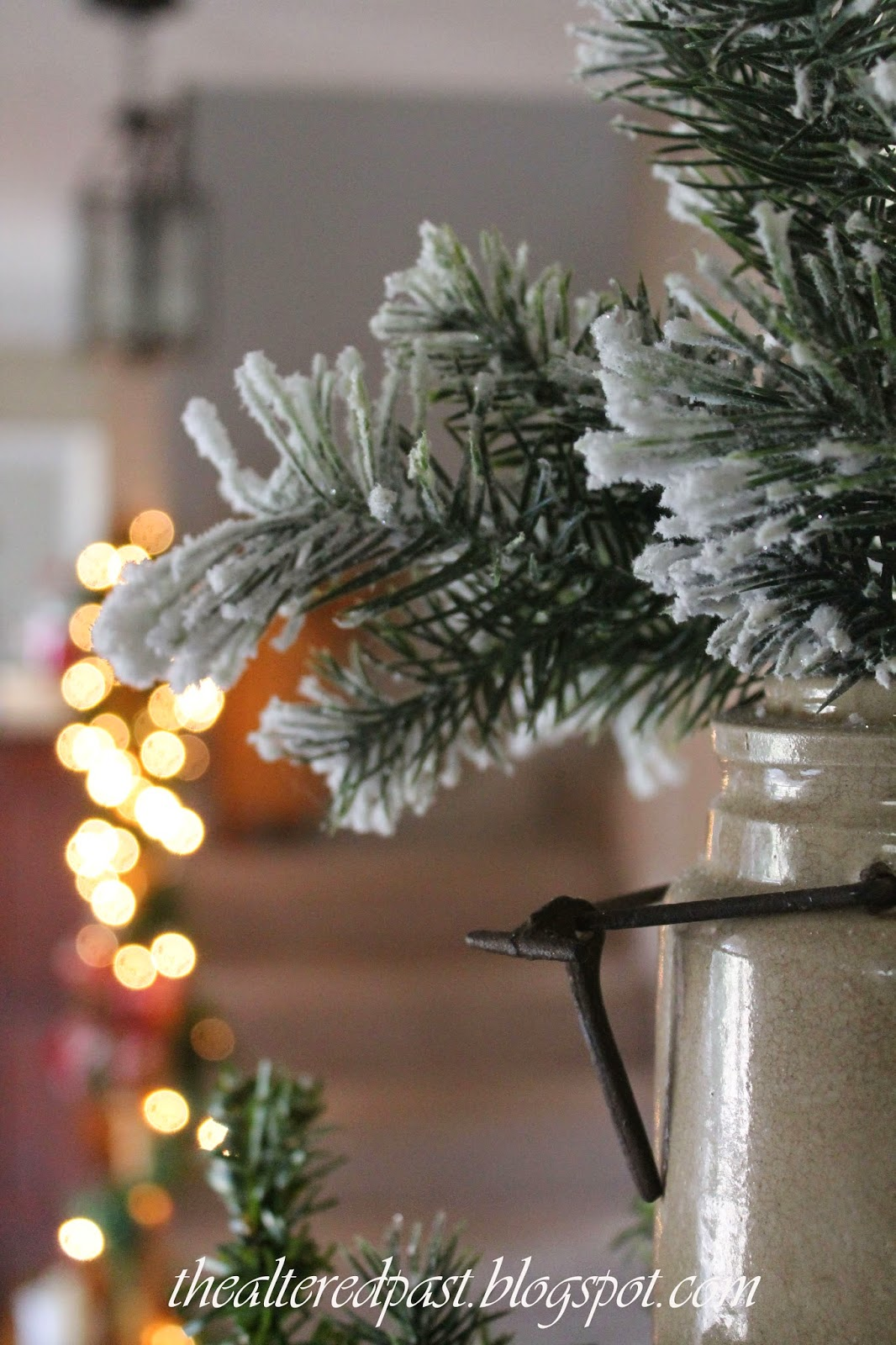 beautiful christmas home decor, the altered past