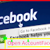 Facebook Account Open
