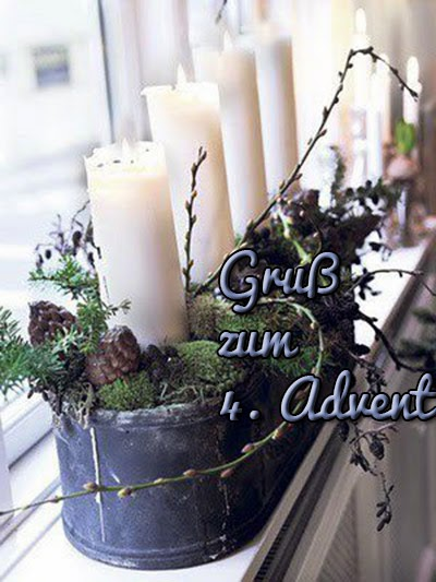 Adventgrussbild 4. Advent