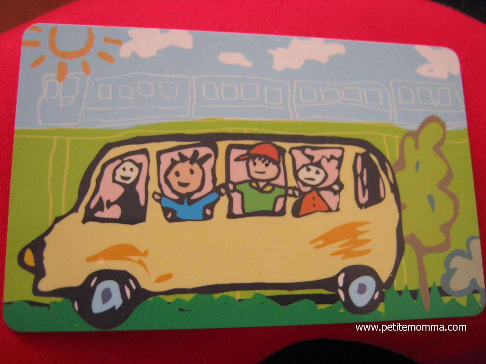 Singapore Child Concession Card MRT