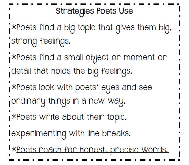 Poem Starters and Creative Writing Ideas