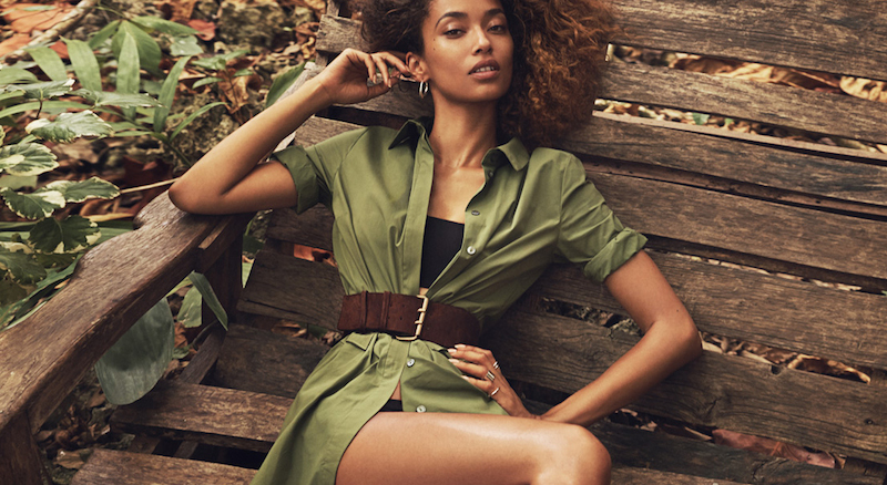 khaki: anais mali by emma tempest for porter #15 summer escape 2016