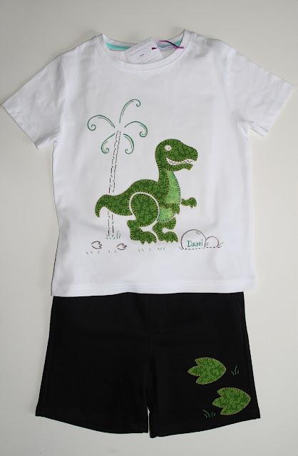 conjunto tiranosaurio rex