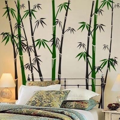 Adesivo para decorar paredes, inspirações