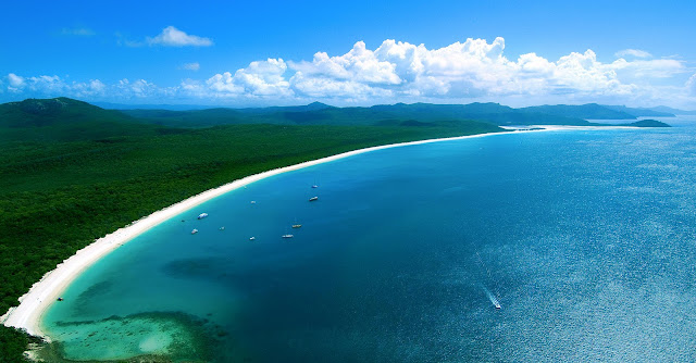whitehaven beach, australia, best beach in the world
