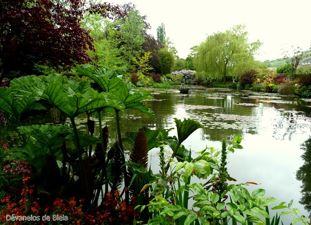 Jardins de Monet em Giverny
