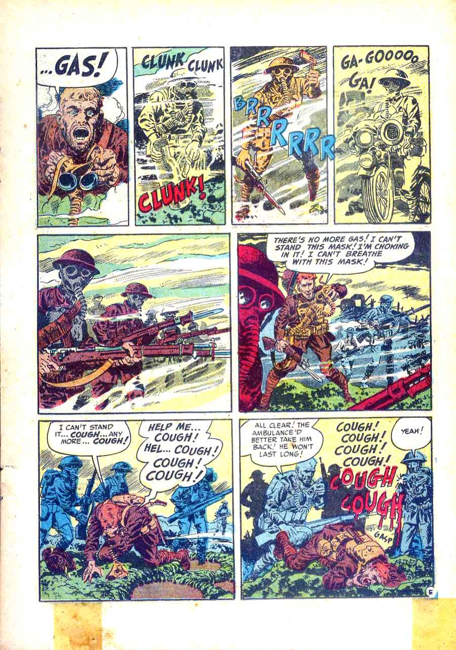 Two-Fisted Tales v1 #23 - Wally Wood ec war golden age comic book page art