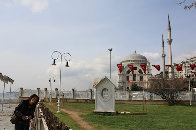 Dolmabahçe Gardens in Istanbul