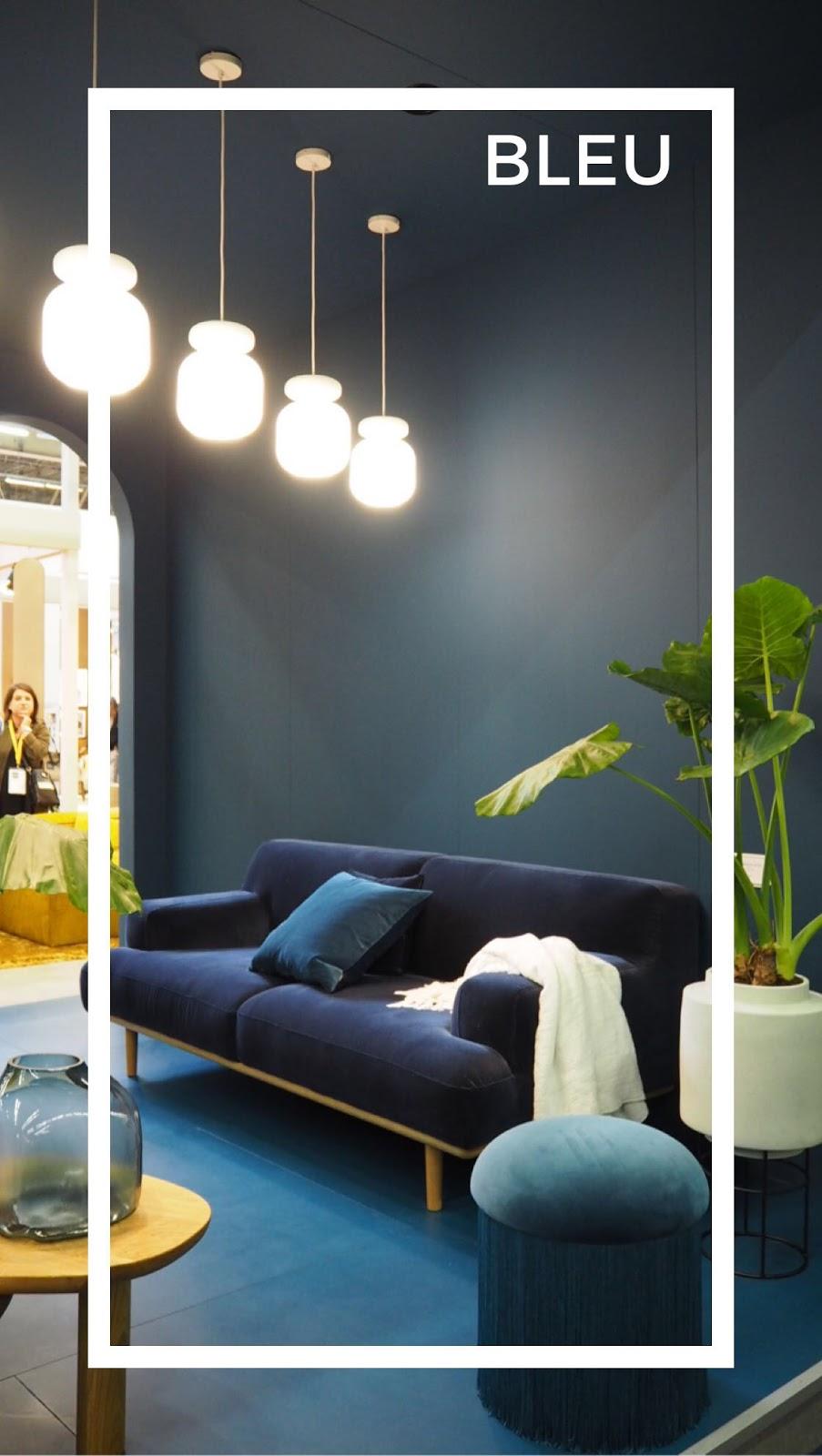 ilaria fatone - bleu foncé - tendances de maison & objets