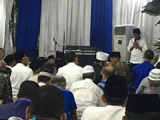 Buka Puasa Bersama Ketua DPP PAN, Bupati Sehan Landjar SH Paparkan Hasil Kinerja DPW