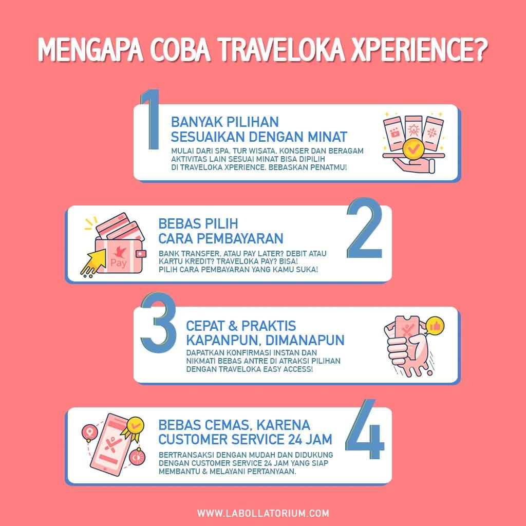 Traveloka Xperience Seru Untuk Bebaskan Penat Sesuai Minat #XperienceSeru
