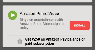 Free Amazon Pay Balance And Amazon Prime Subscription