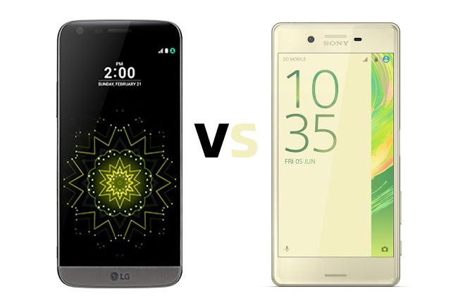 LG G5 VS Sony Xperia X