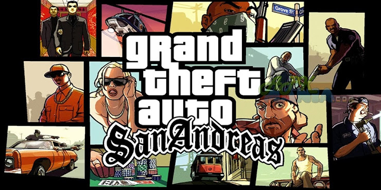 Grand Theft Auto : San Andreas apk + obb mod unlimited money