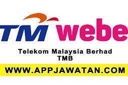 Jawatan Kosong Terkini 2017 di Telekom Malaysia Berhad (TM) - 31 Ogos 2017