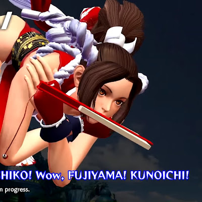 The King of Fighters XIV presenta a Mai Shiranui y Banderas Hattori