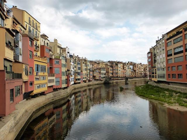 Casas de D'Onyar, Girona