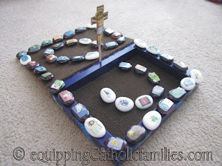 another way to make Stepping Stones through Jesus' Life