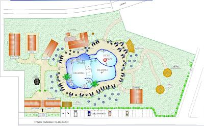 Mappa Parco Acquatico Ilidarab