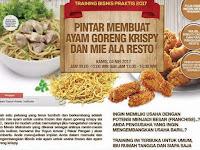 Acara Training Usaha Ayam Goreng Krispy Dan Mie Ala Resto