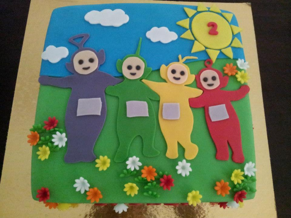 Teletubbies Cake