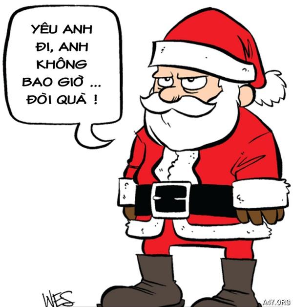 ảnh vui ông già Noel