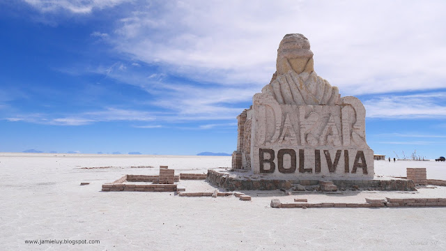 Dakar Rally, Uyuni Salt Flats, Bolivia
