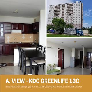 Cho thuê chung cư A.View khu dân cư Greenlife 13C