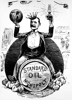 USPA History Rockefeller Political Cartoon