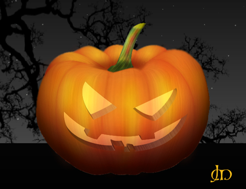 Create a Halloween Pumpkin in Paint Shop Pro