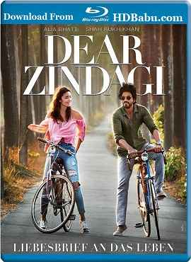 Dear Zindagi (2016) Hindi 480p Blu-Ray x264 400MB