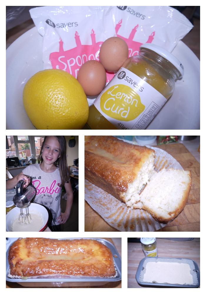 Morrisons Lemon Drizzle Cake