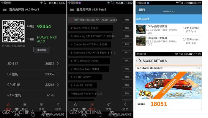 Huawei Mate 8 Scores Benchmark   PDIINET