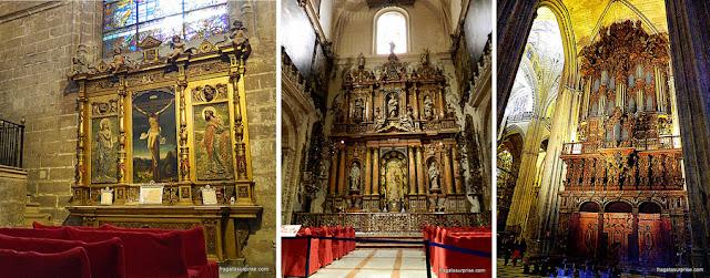 Altares da Catedral de Sevilha