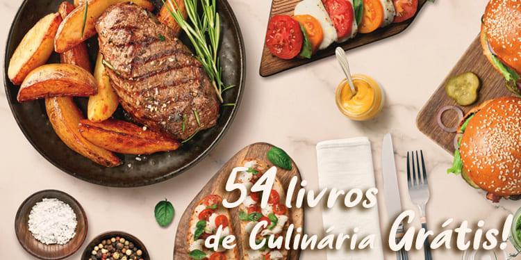 54 Livros de Culinária para Baixar Grátis em PDF