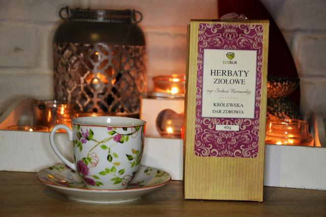 herbata królewska , najleosza mieszanka ziołowa