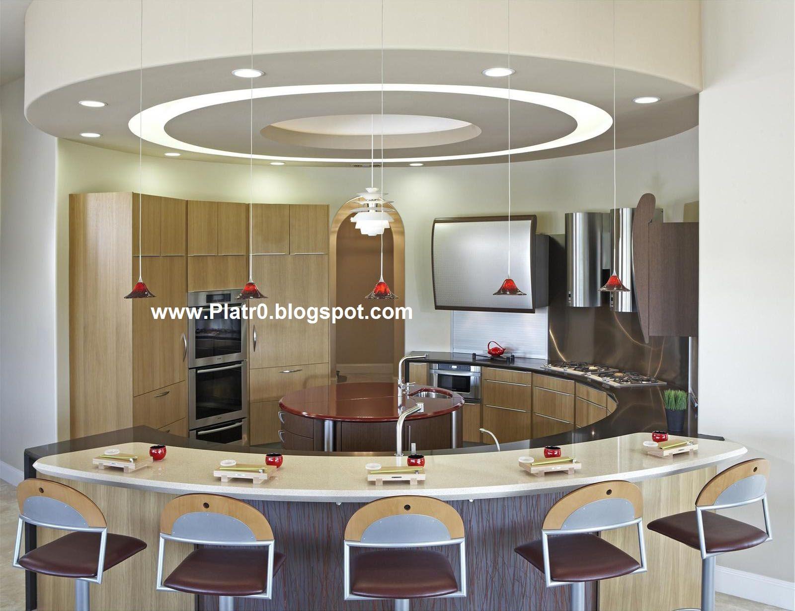 Faux Plafond Spots Cuisine - Décoration Platre Maroc - Faux Plafond ...