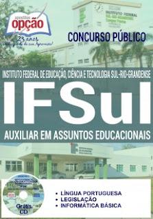Apostila concurso IFSul Rio-Grandense 2016