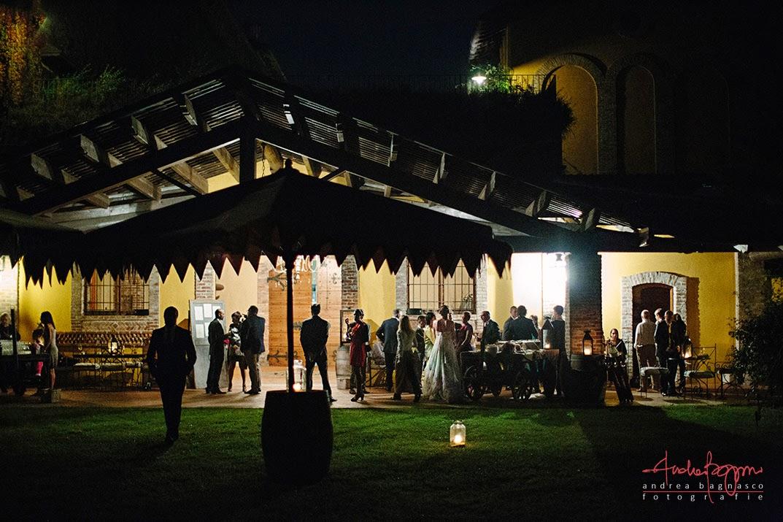 invitati matrimonio Villa Sparina Gavi