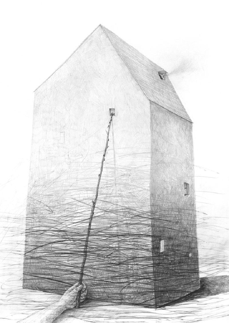Stefan-Zsaitsits-01 Houses: Drawings by Stefan Zsaitsits Design