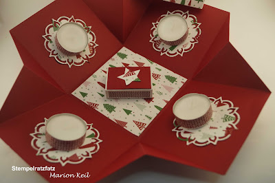 Adventskranz to go mit Stampin´ Up!