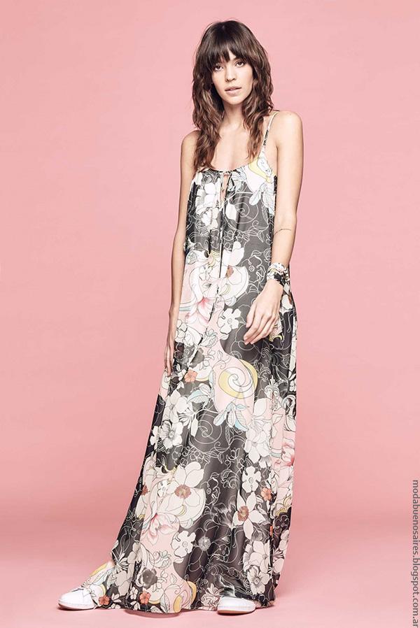La moda del verano 2017 de la marca argentina Melocoton. Moda mujer 2017 verano.