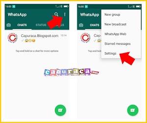 Cara Mengganti NOMOR WhatsApp